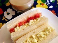 お家cafe-雞蛋沙拉三明治