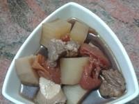 芋頭番茄牛肉湯