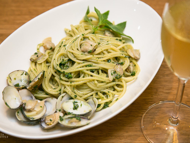 人人想學的青醬蛤蜊義大利麵