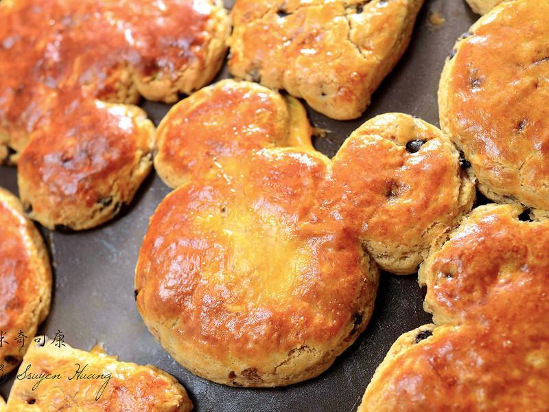 米奇司康-免揉麵包