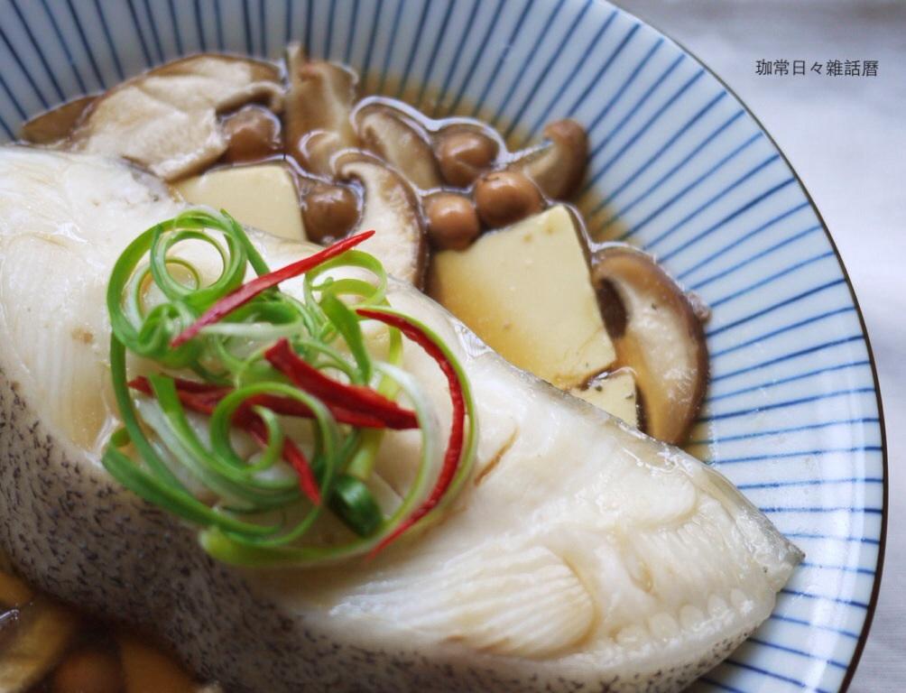 破布子蒸鱈魚❤零廚藝家常菜