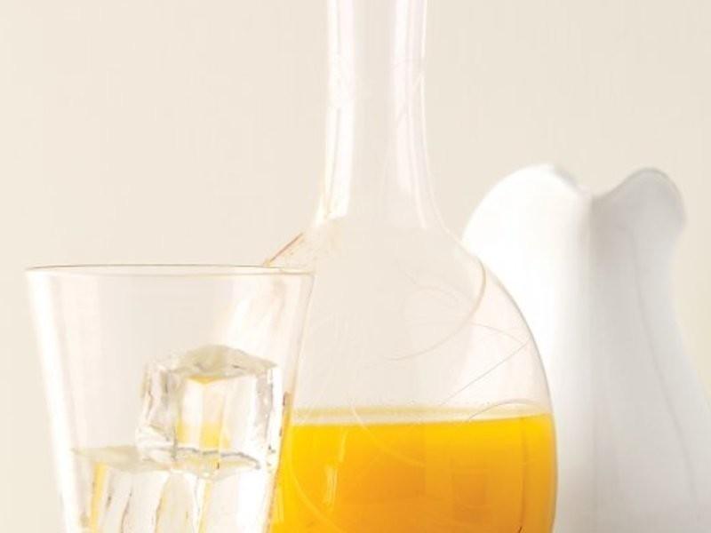 番紅花柳橙汁