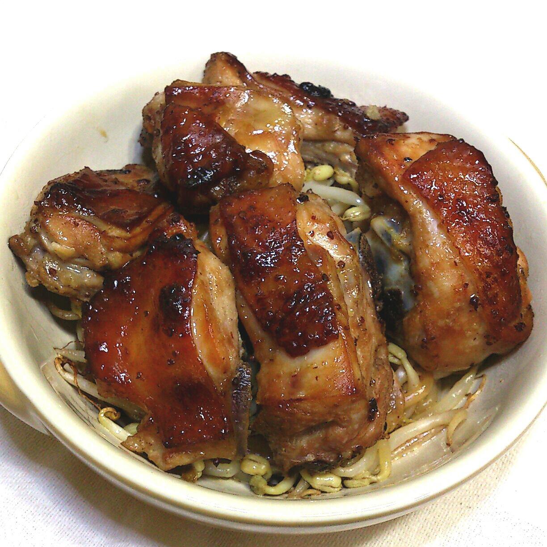 【桔香醬油】桔香芥末籽烤雞拌豆芽菜