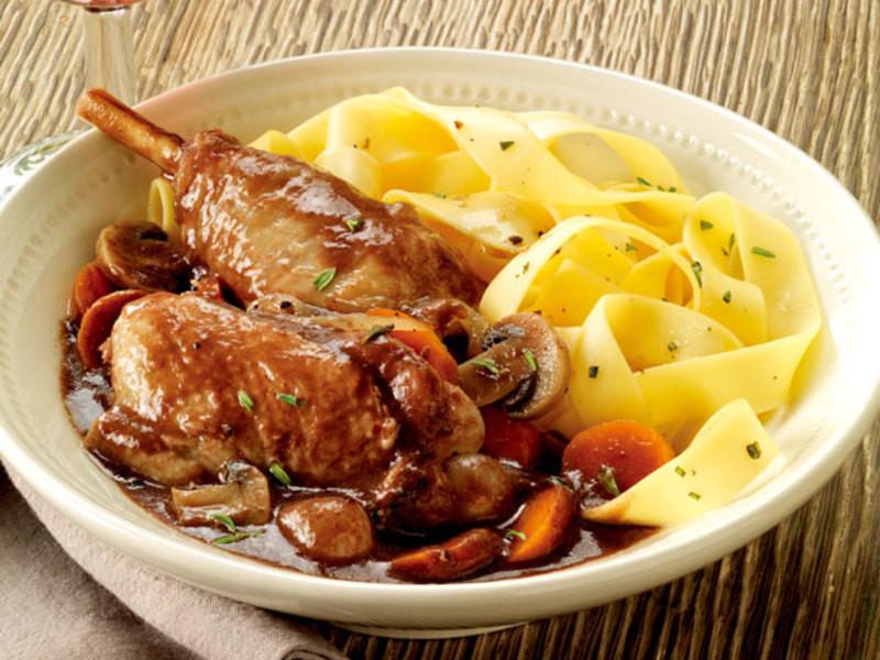 法式卡歐紅酒燉雞