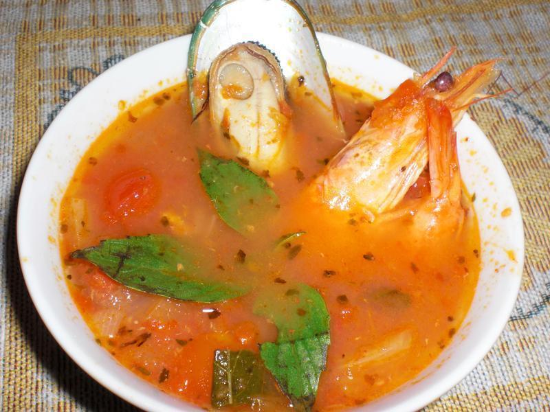 義式蕃茄海鮮湯
