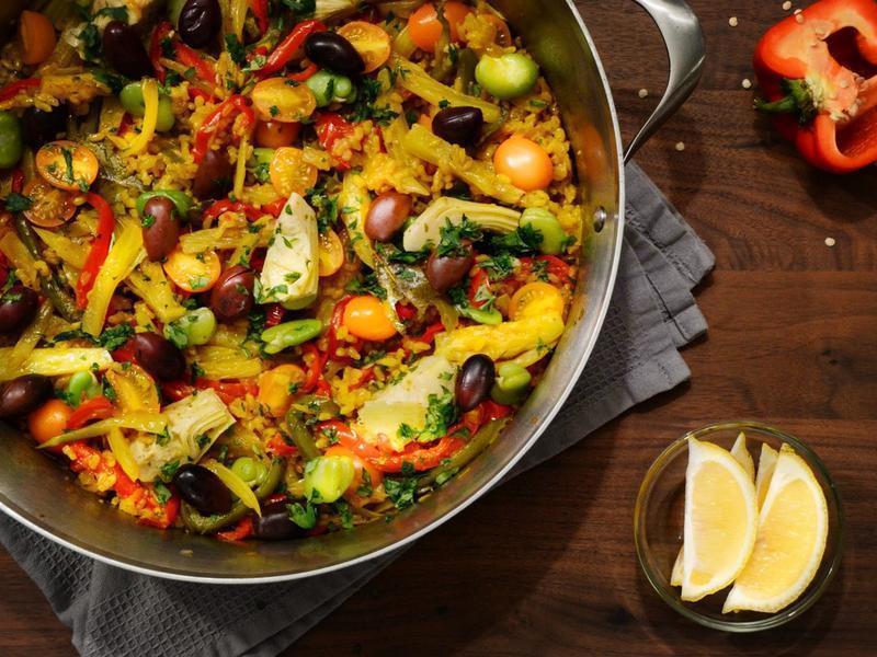 西班牙蔬菜燉飯