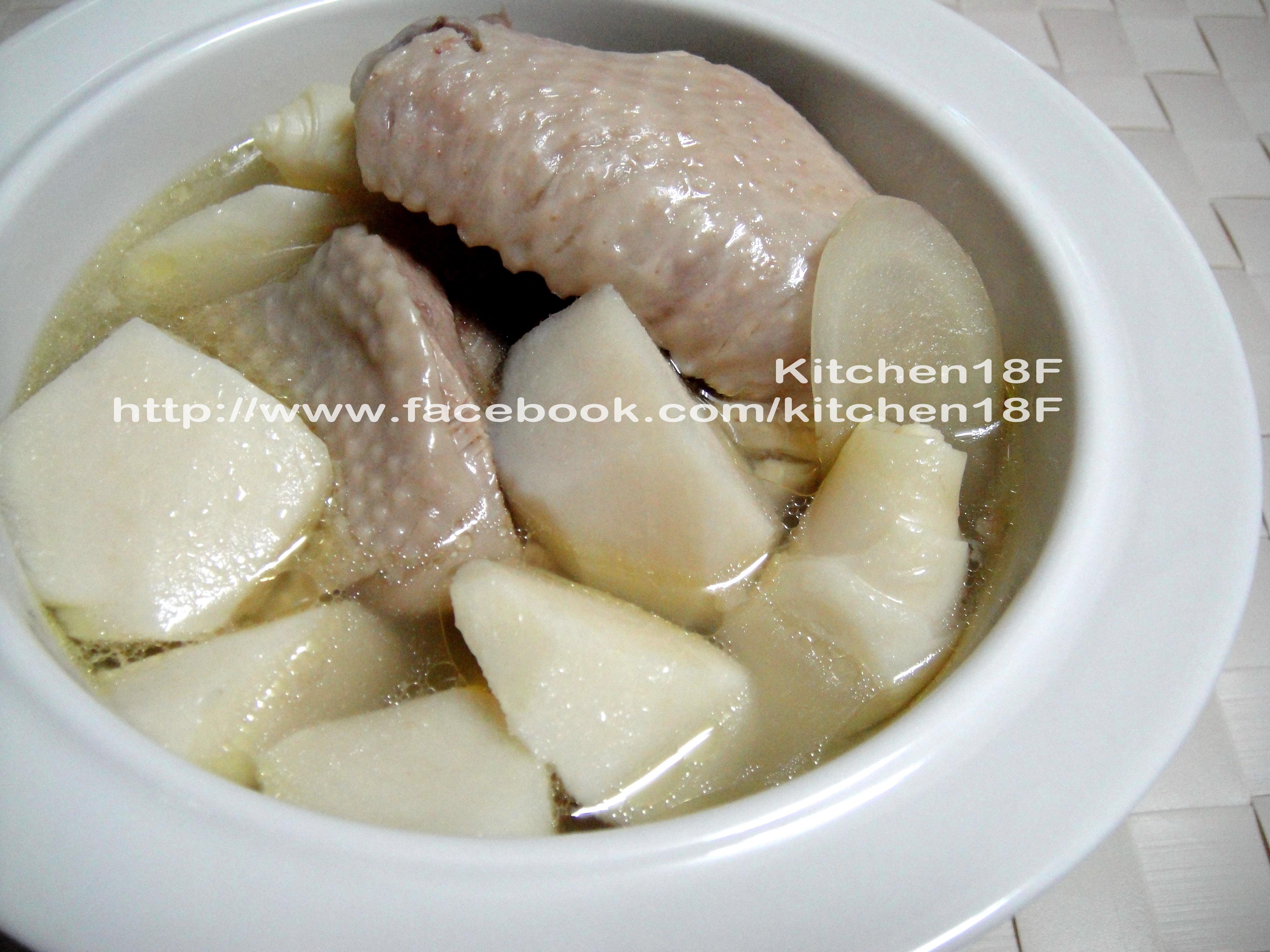 綠竹筍雞湯_電鍋料理