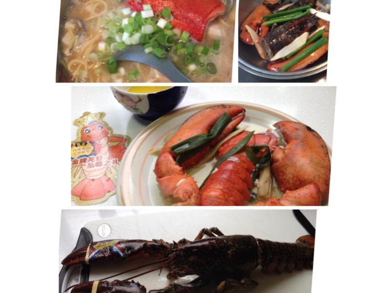 【龍蝦料理】龍蝦兩吃