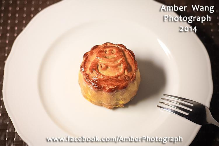 廣式月餅(烏豆沙蛋黃口味)