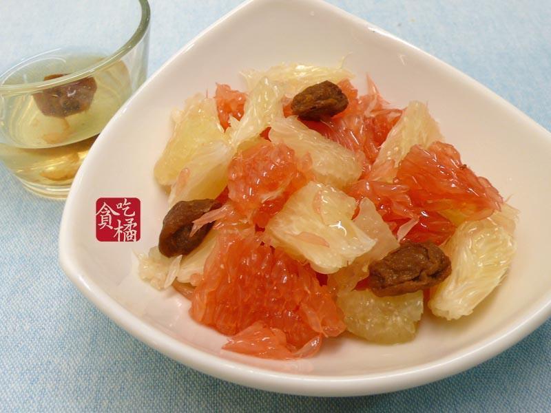 蜂蜜梅香雙柚沙拉  ♥中秋解膩文旦柚1