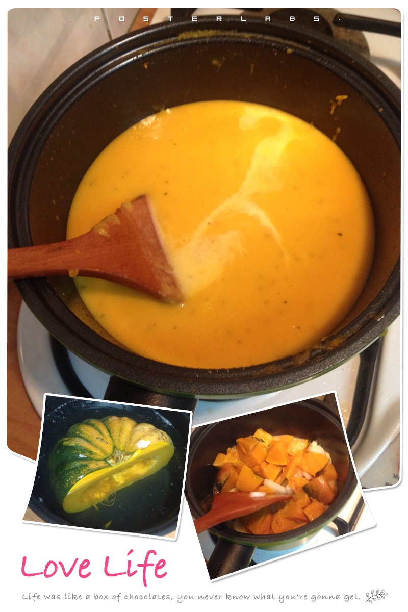 超簡單迅速 味道又高級的南瓜濃湯