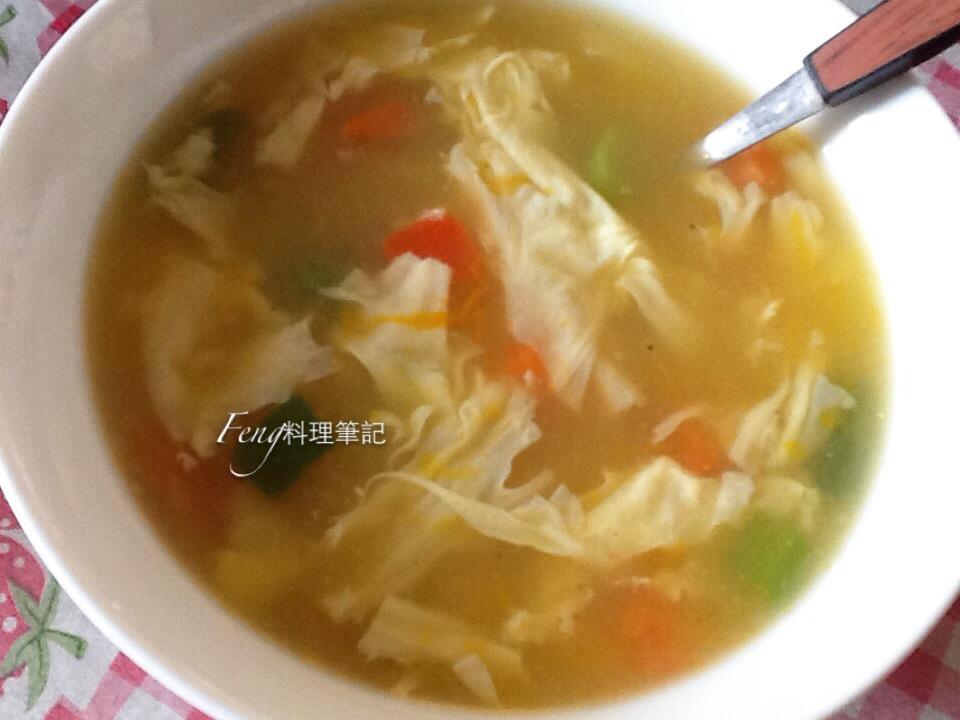 南瓜玉米濃湯(簡易快速完成)