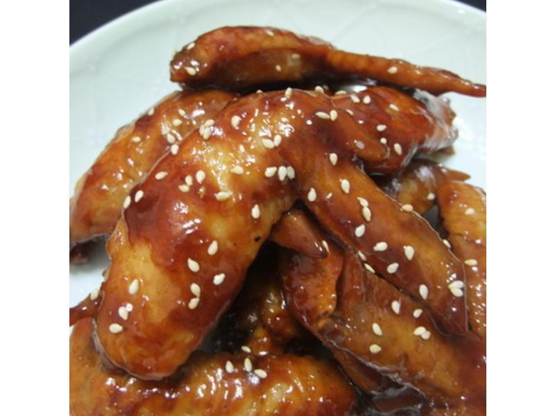 中秋節烤肉醬再利用~蜜汁雞翅