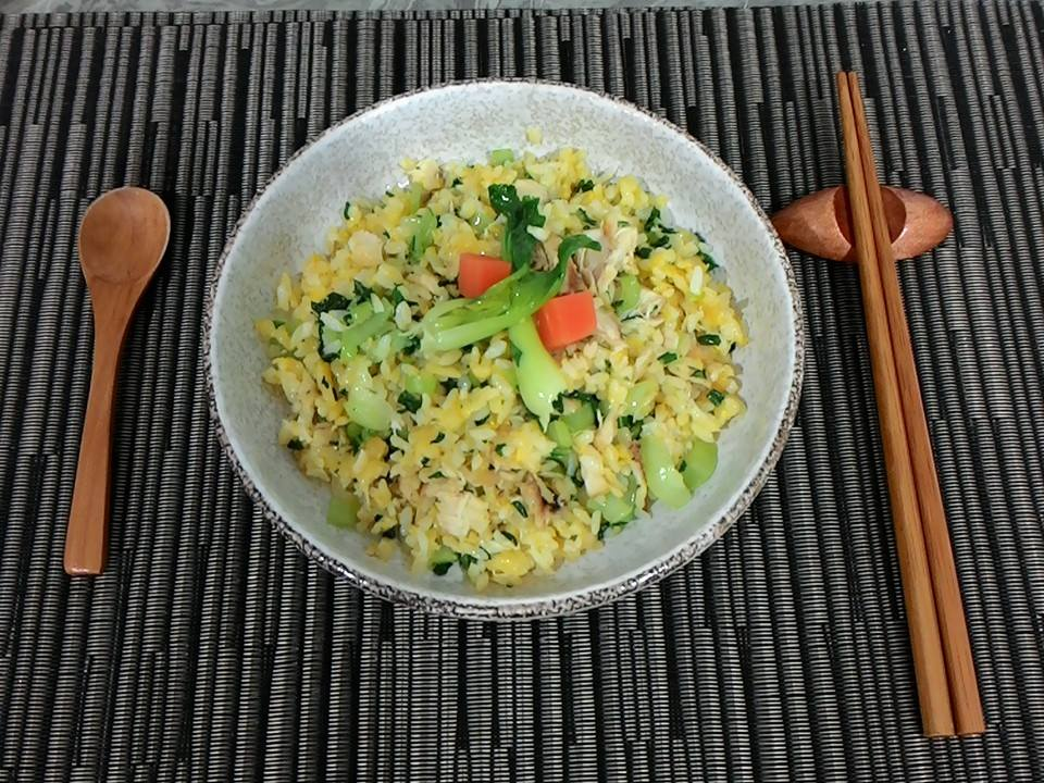 土魠魚黃金炒飯