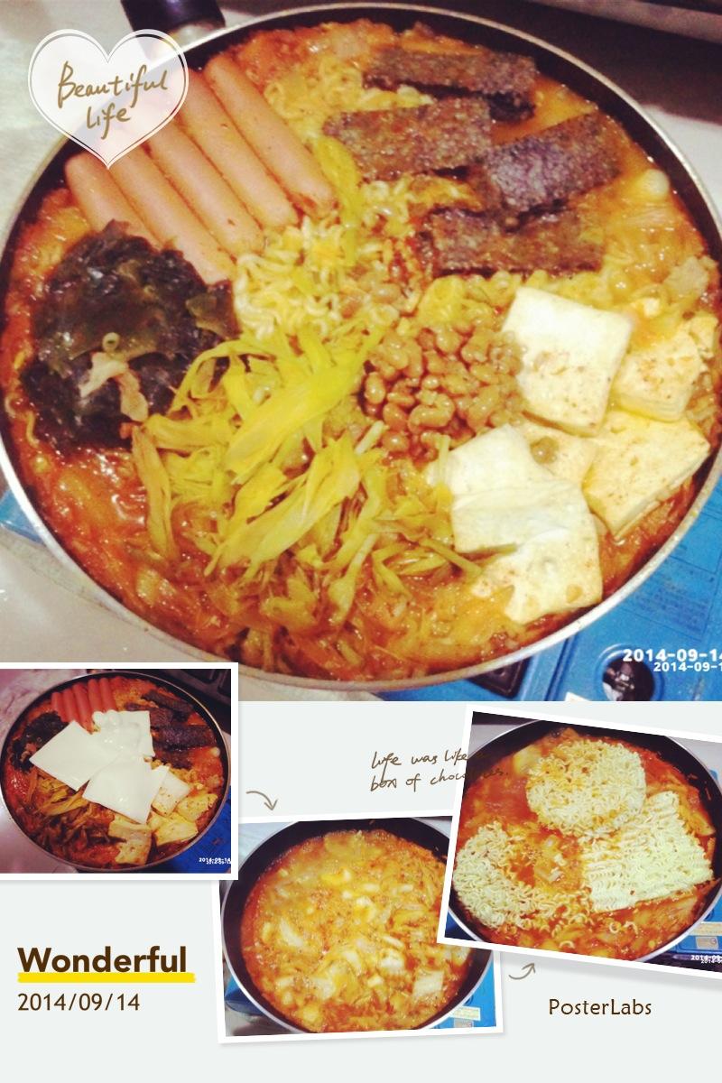 自創版-韓式部隊鍋
