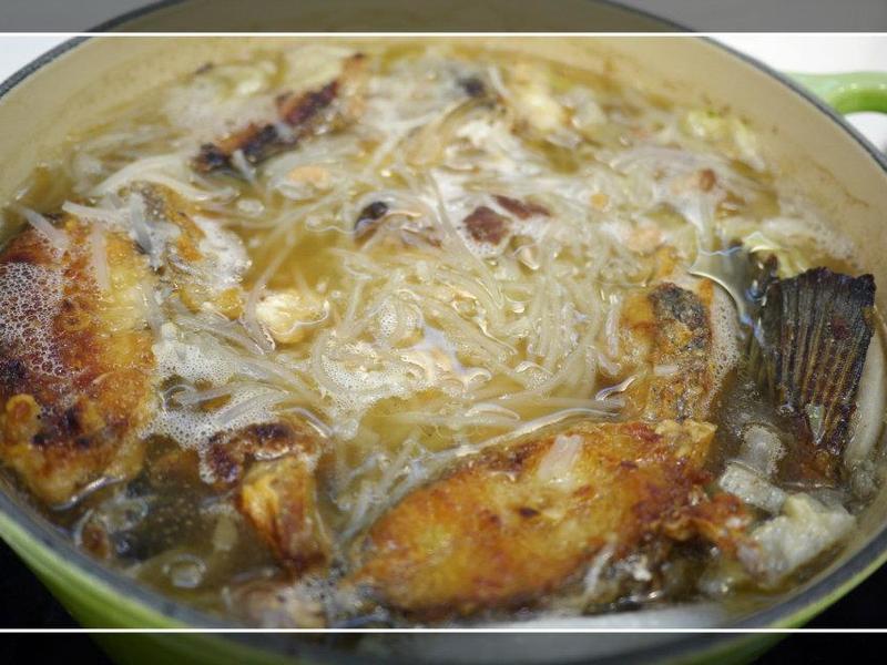 鮮魚米粉鍋