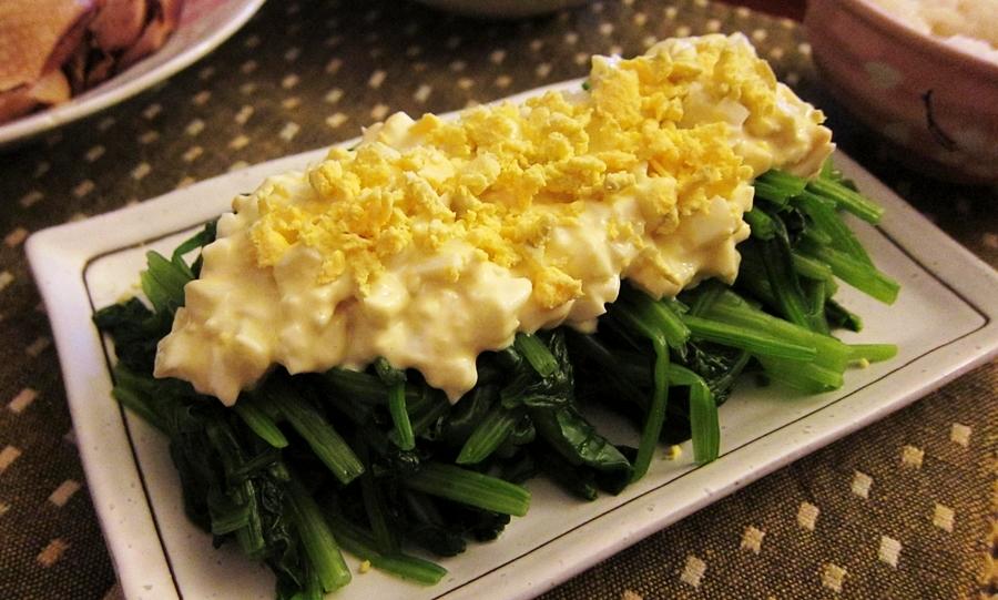 胡麻醬菠菜