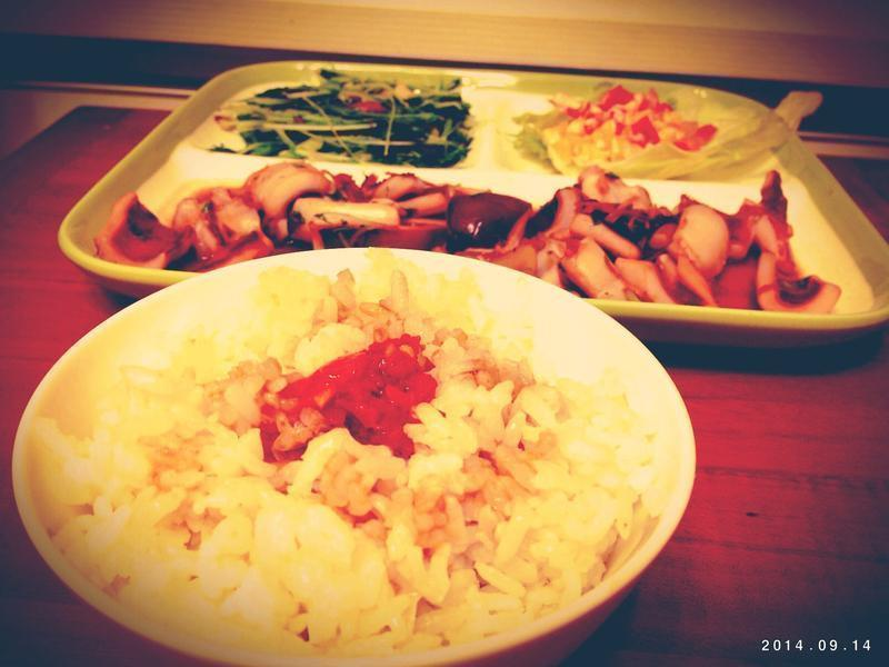 自炸豬油之辣椒豬油拌飯(老母食舖辣椒醬)