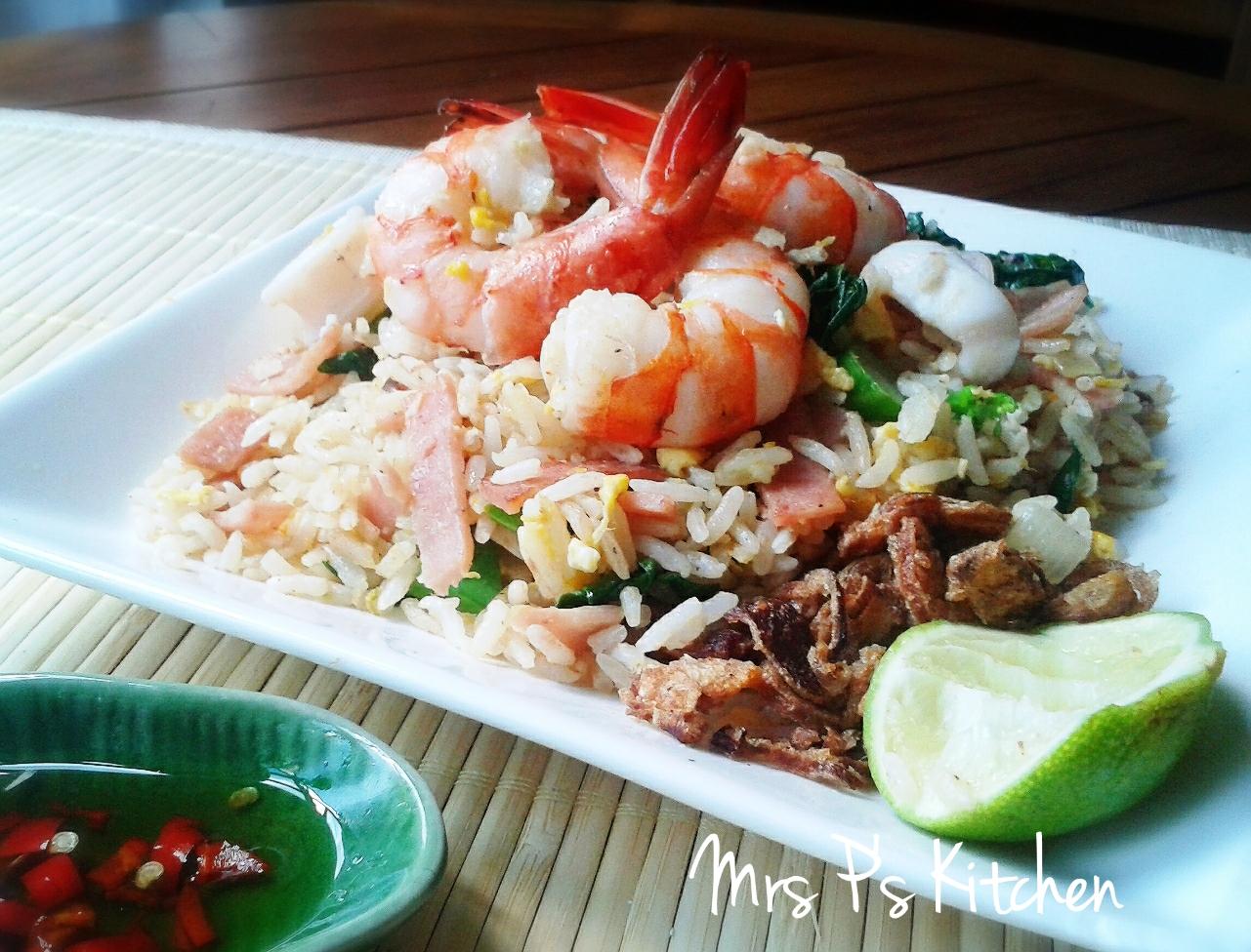 泰式蝦醬炒飯 [惹味推介]