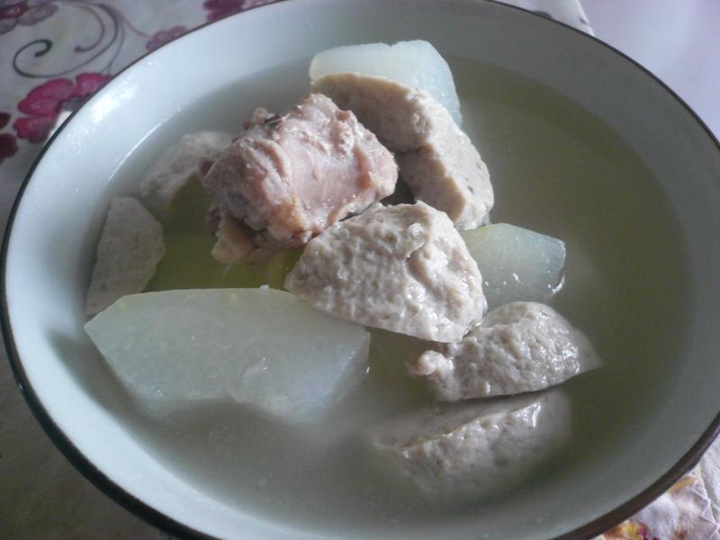 快速煮好湯─冬瓜排骨湯