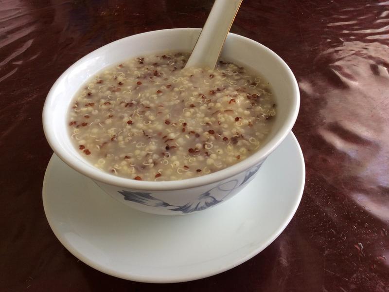 藜麥小米粥