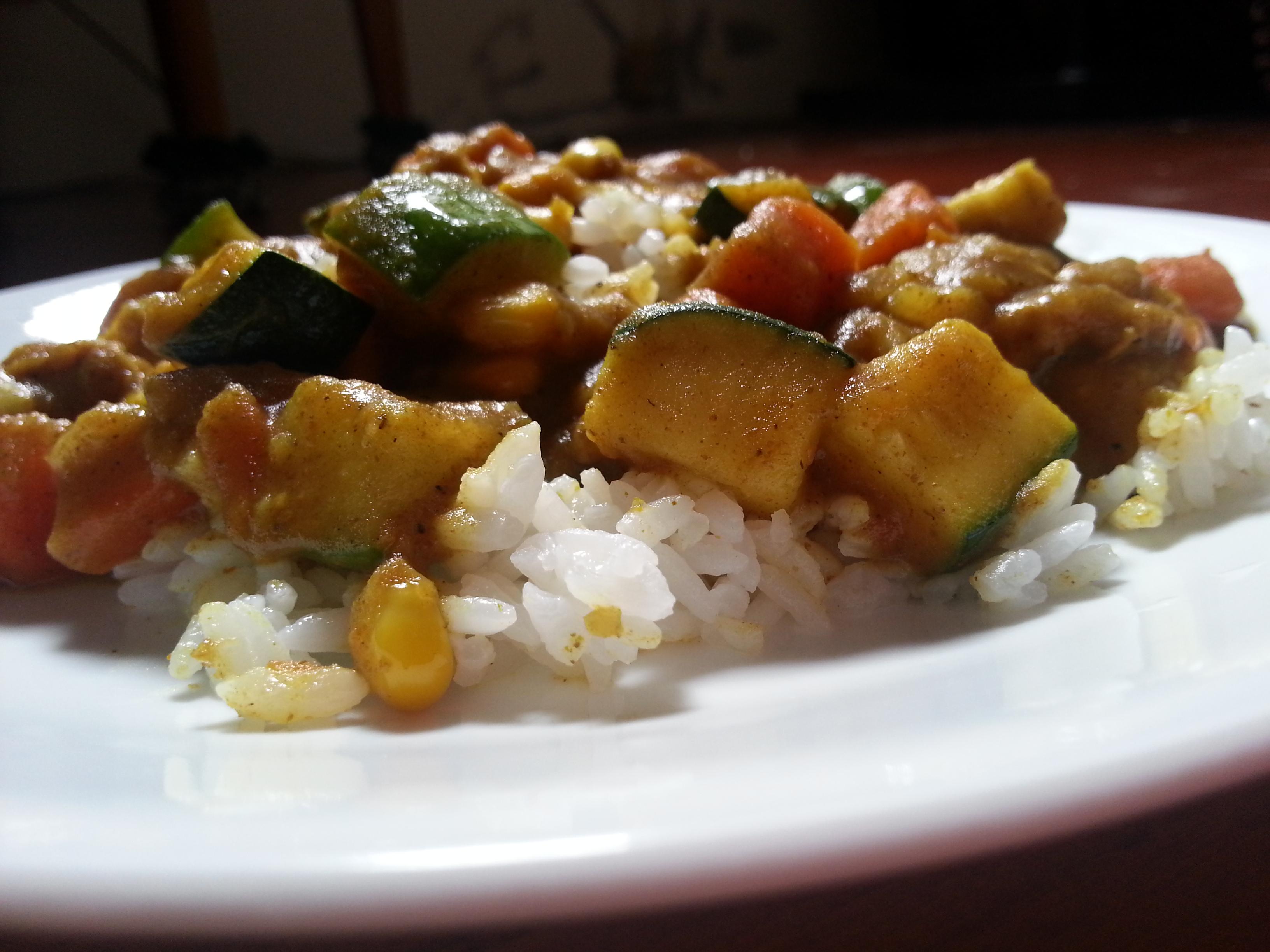 印度咖哩雞肉燴飯