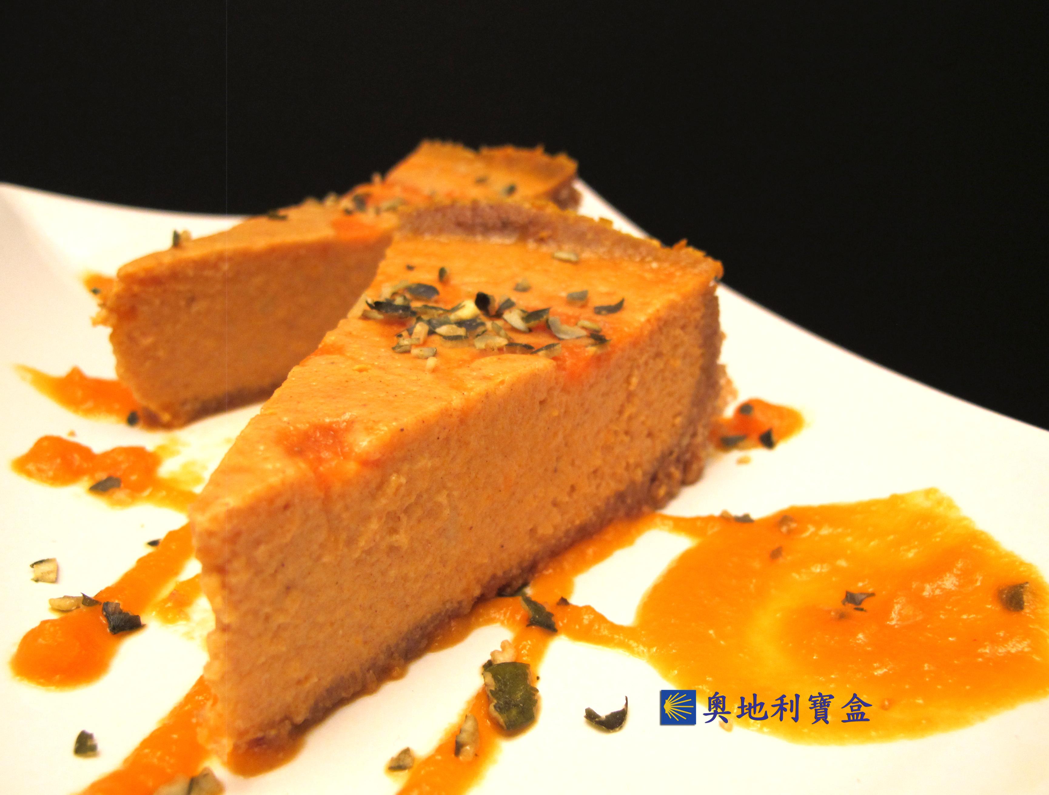 南瓜乳酪蛋糕-紐約風 *自製南瓜泥*