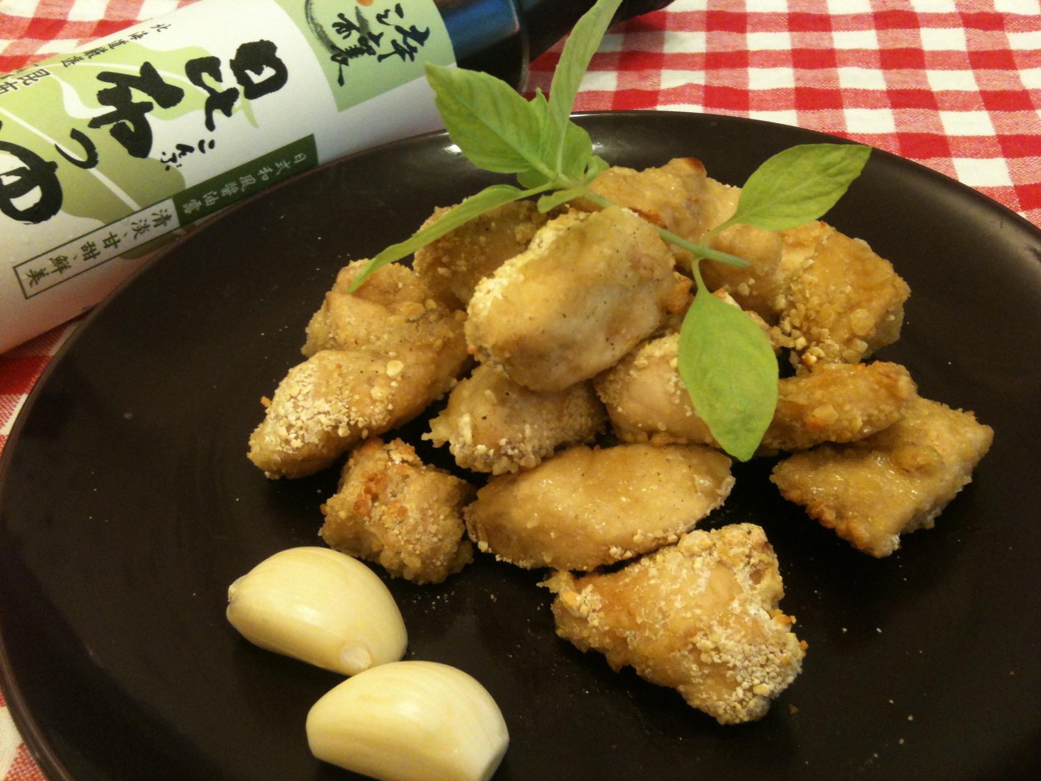 蒜味鹹酥雞(烤箱版)-淬釀決勝料理