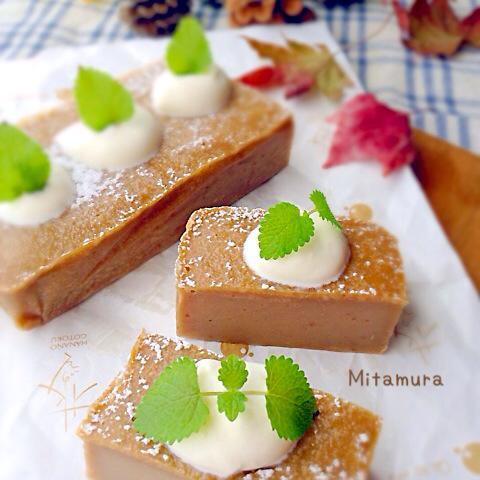 栗子蛋糕(果汁機加烤箱)