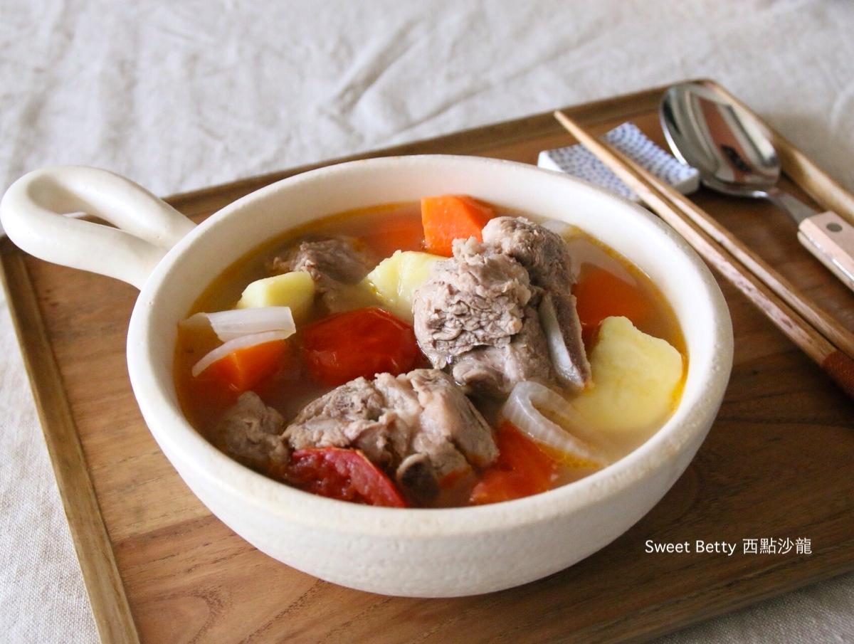 補氣排骨蔬菜湯