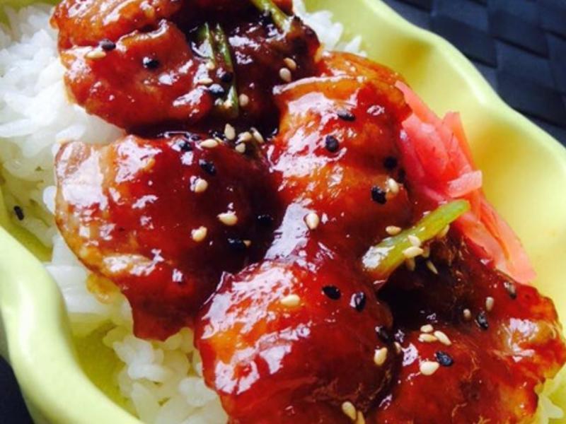 【空姐愛煮菜】醬燒豬肉蓋飯(烤肉醬味)