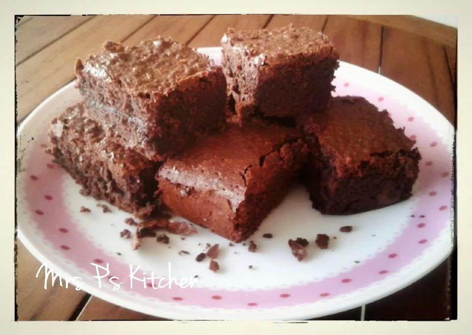 布朗尼Brownie[超簡單食譜]