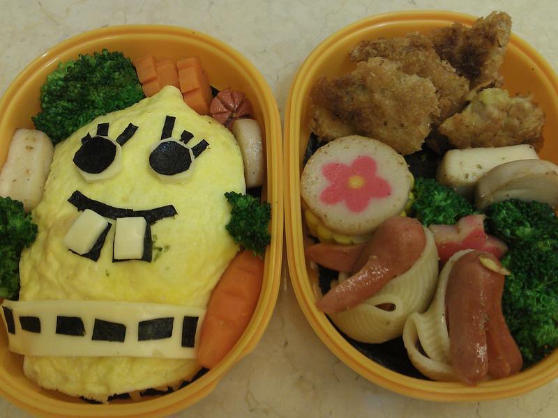 海綿寶寶咖哩飯《家樂福廚神大賽》