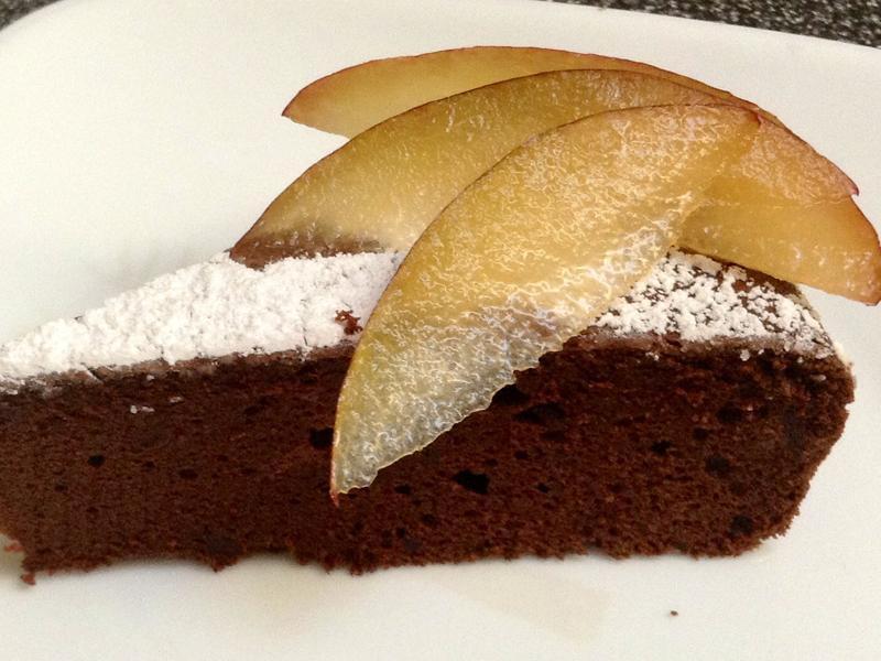 高濃度巧克力蛋糕 -- 下午茶的最愛