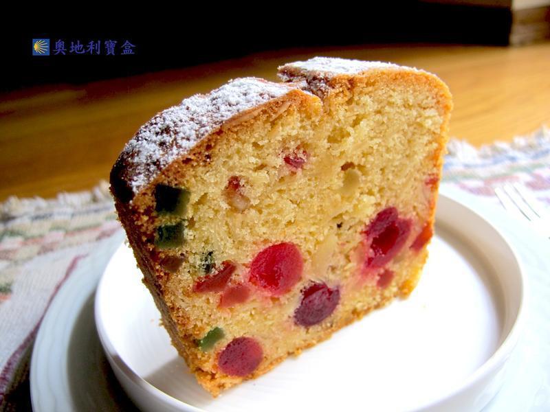 糖漬櫻桃水果磅蛋糕-奧地利美食