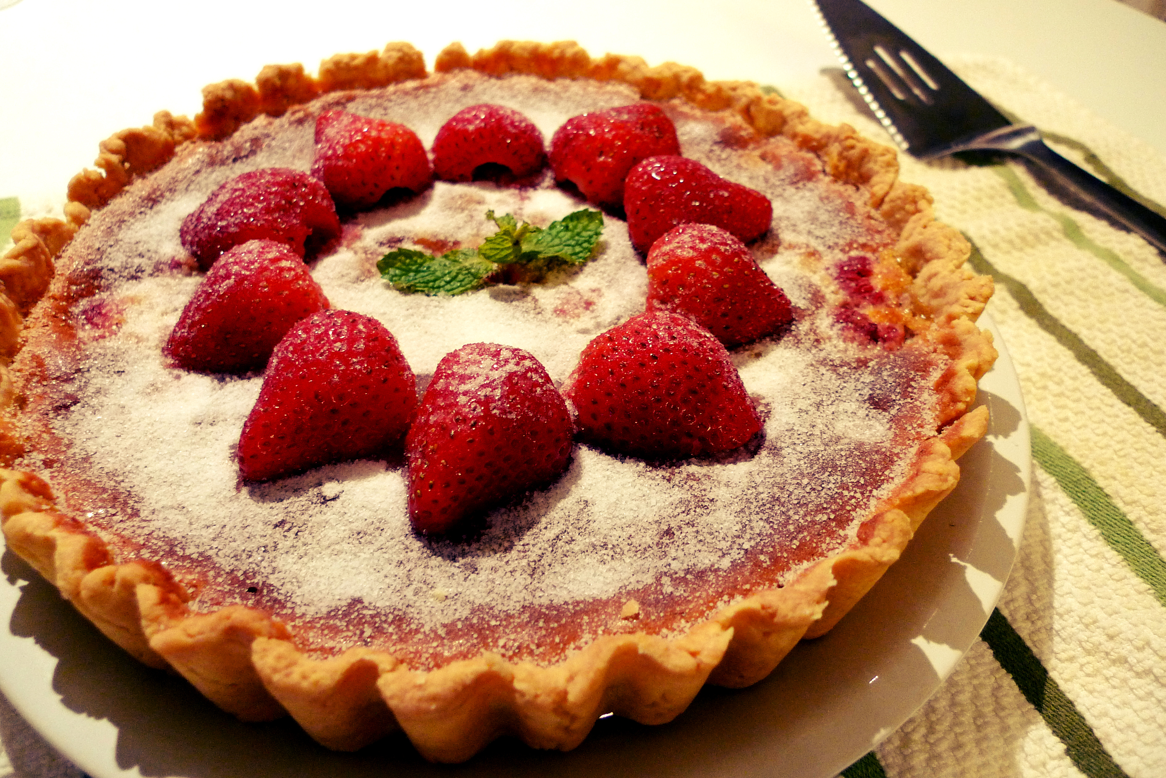 超好吃法式堅果藍莓塔