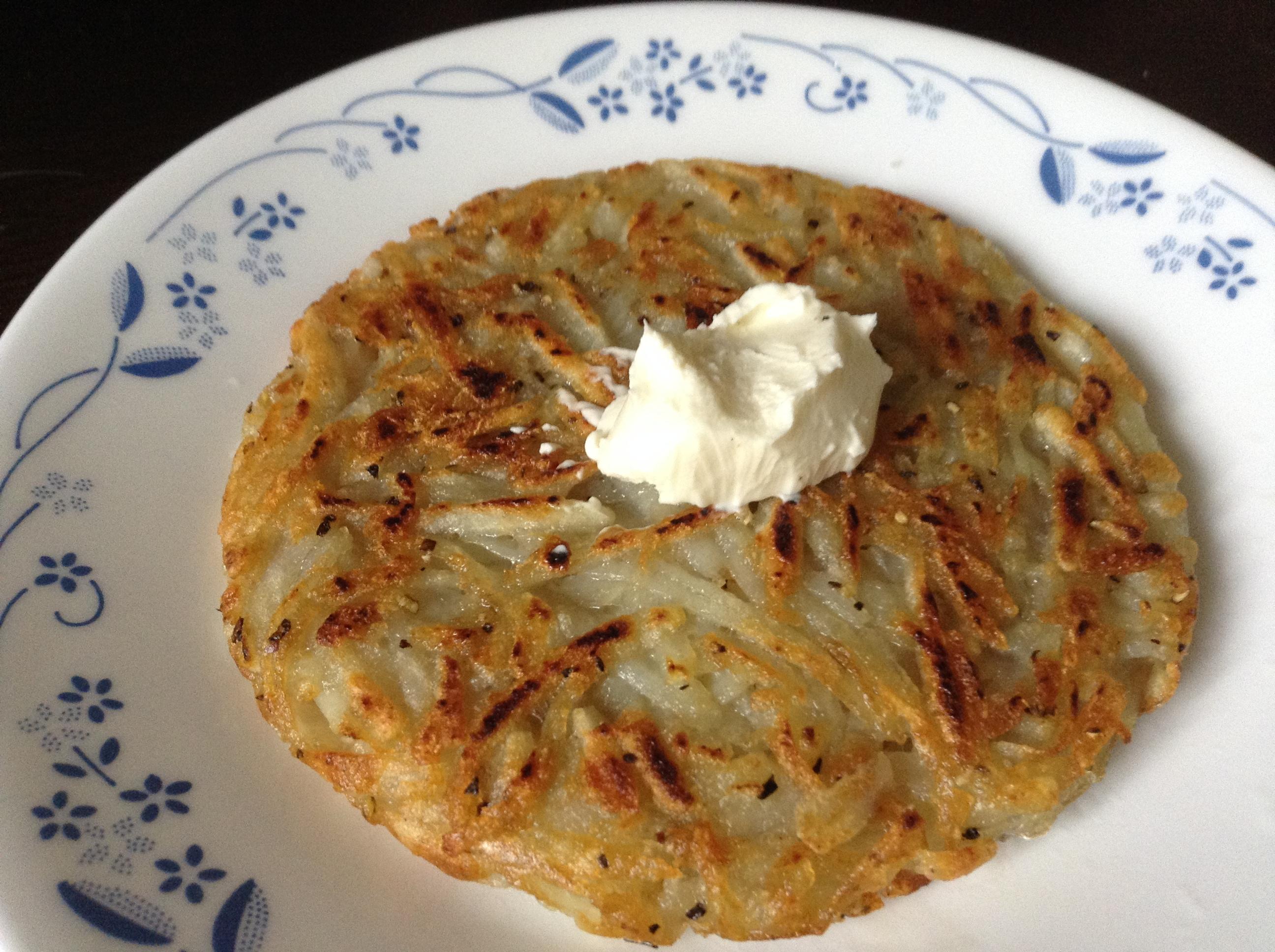 馬鈴薯煎餅  Rösti