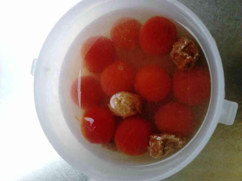[小零嘴]梅漬番茄