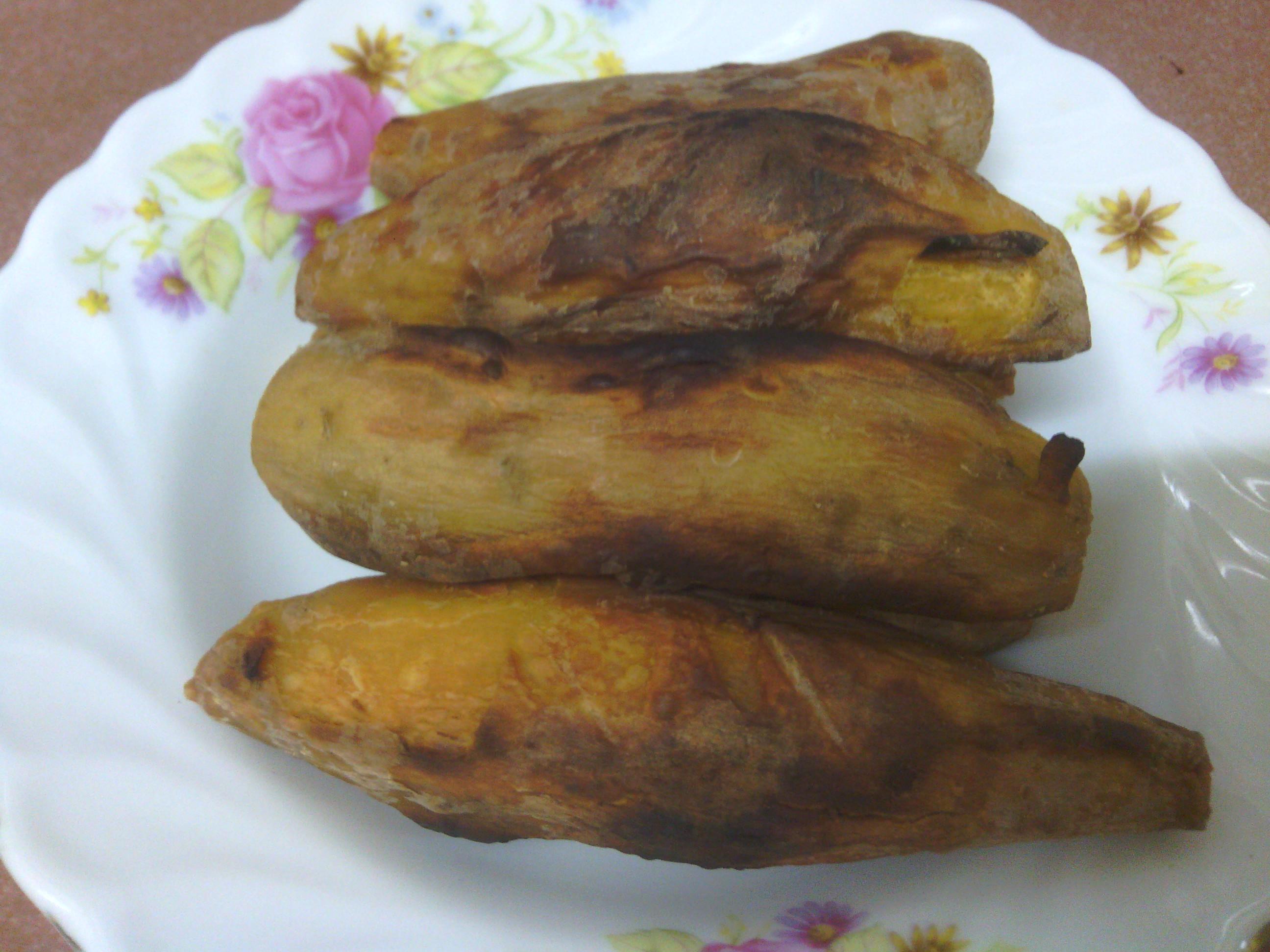 家用小烤箱之烤番薯(地瓜)