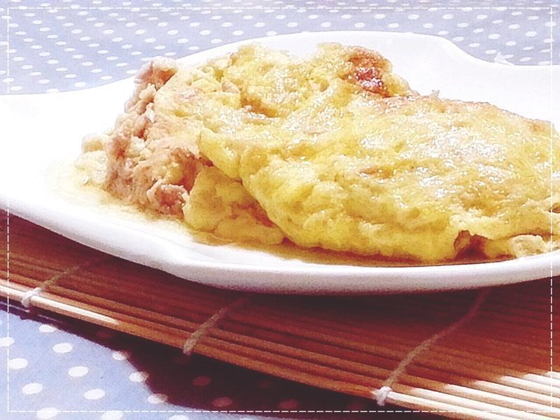 日式鱈魚嫩肝油高湯厚蛋燒