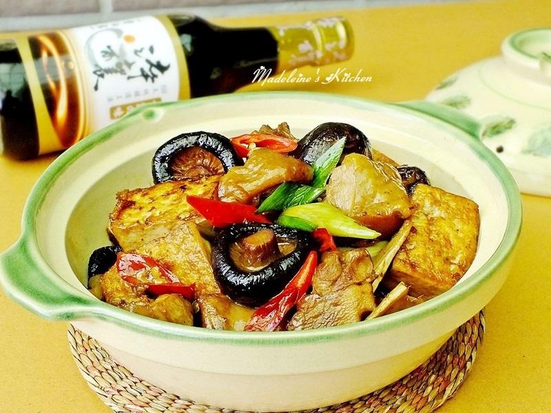 冬菇雞肉豆腐煲【淬釀節氣食譜】
