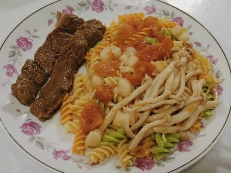 紅白義式卷心麵『家樂福廚神大賽』