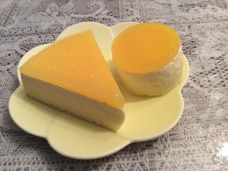 橙香慕斯蛋糕