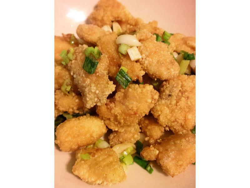 鹽酥雞米花