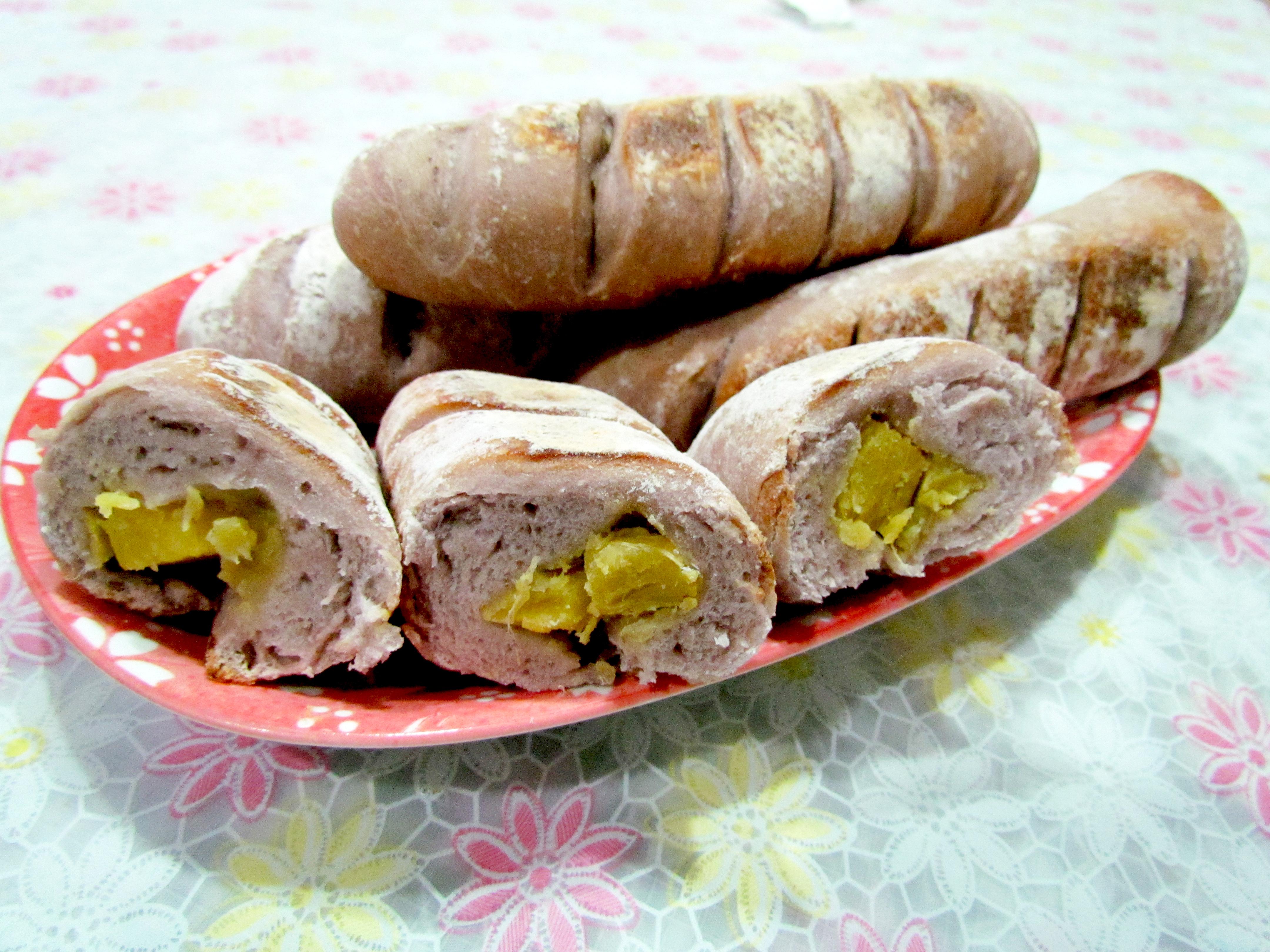 平底鍋-洛神地瓜麵包『家樂福廚神大賽』
