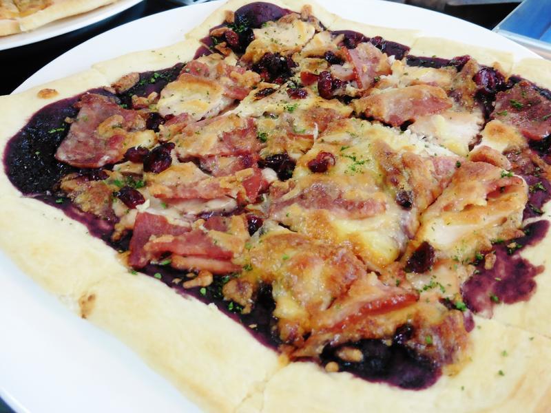 小紅莓雞肉披薩