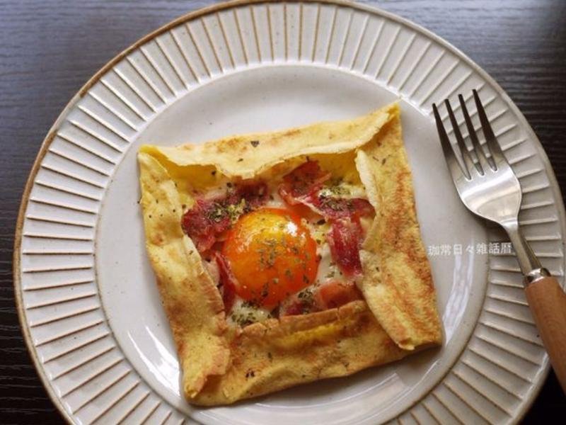 培根蛋法式可麗餅『家樂福廚神大賽』