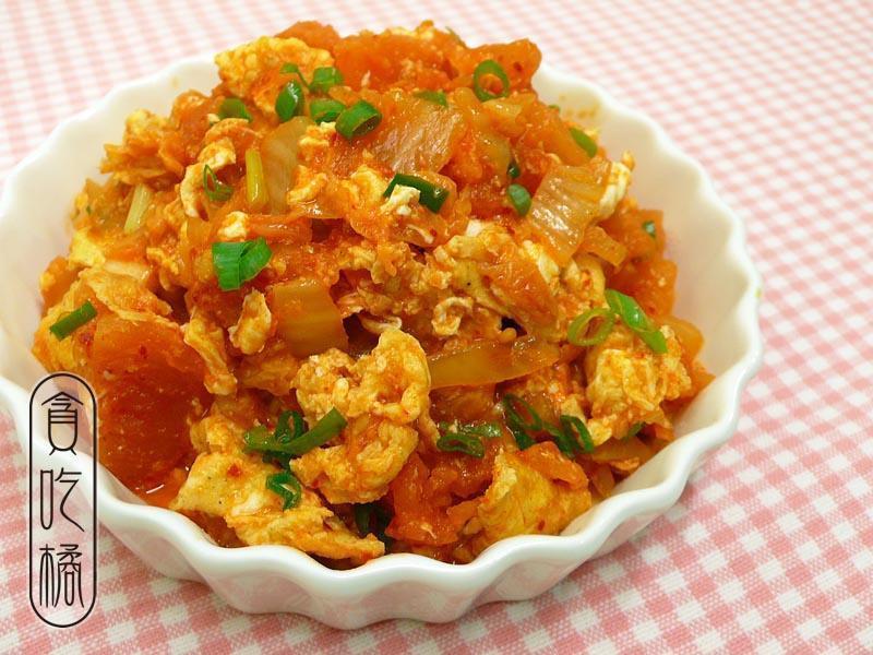 泡菜番茄炒蛋 ♥趣味番茄炒蛋 3