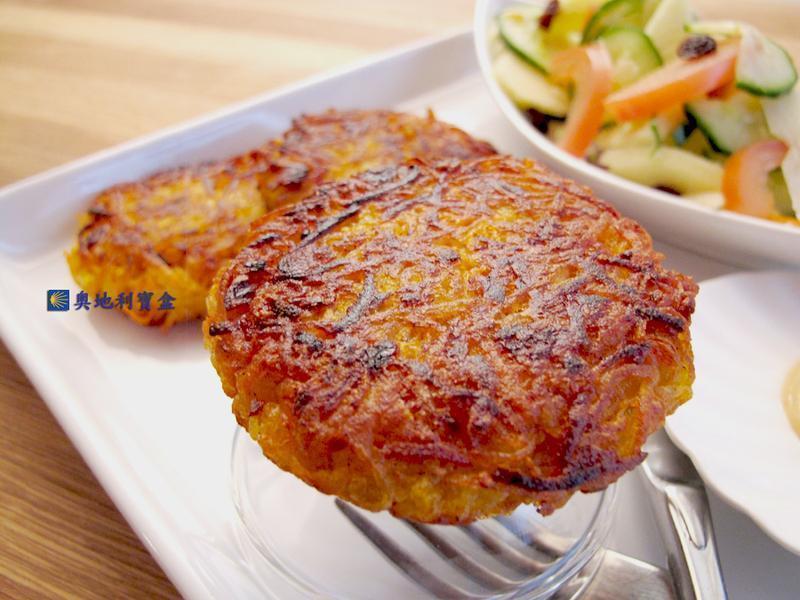 地瓜馬鈴薯煎餅-小氣廚房 全素高速救火版