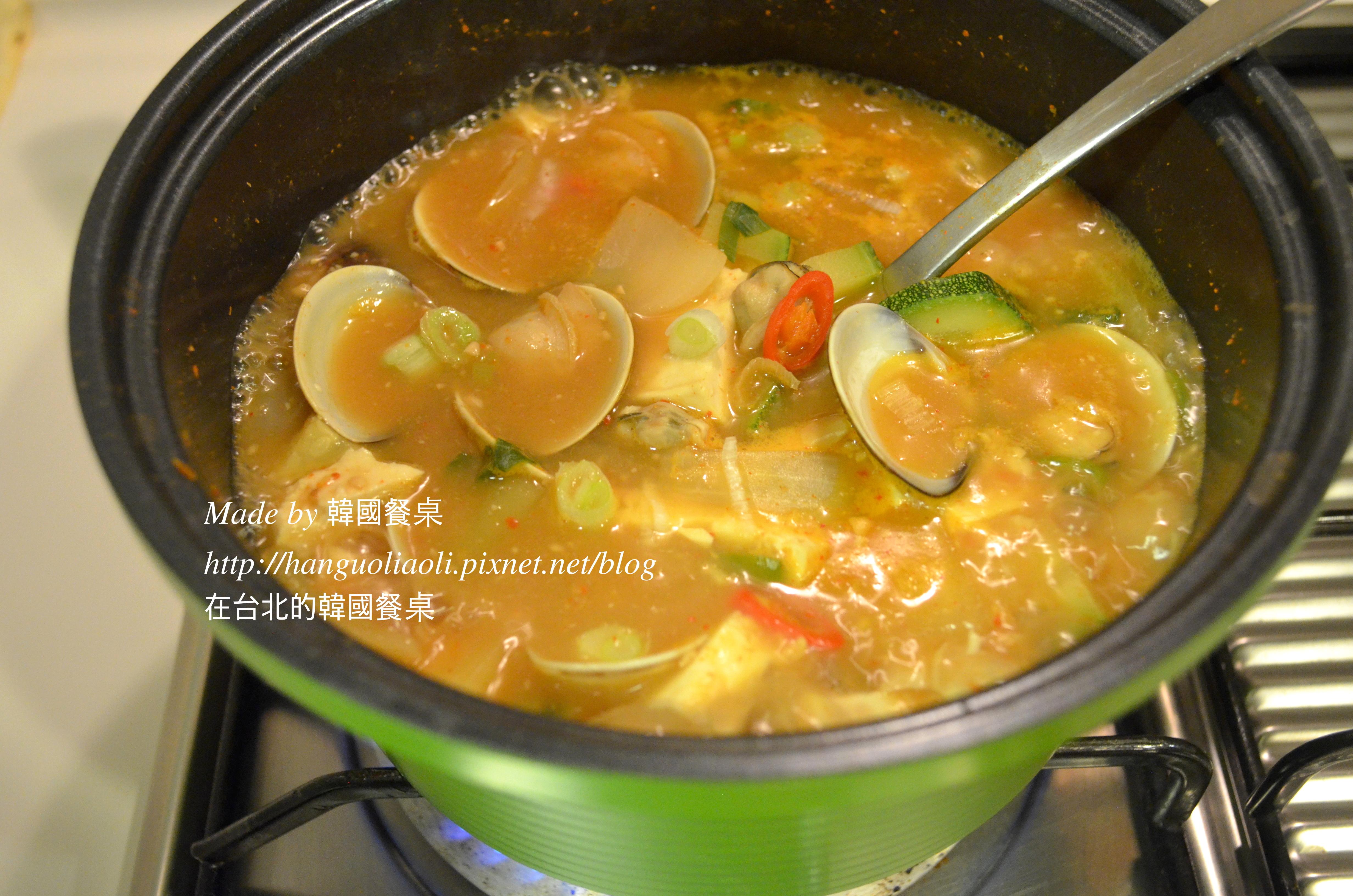 不會失敗的韓式蛤蜊大醬湯, 된장찌개
